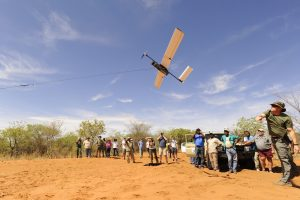 Drone en Namibie