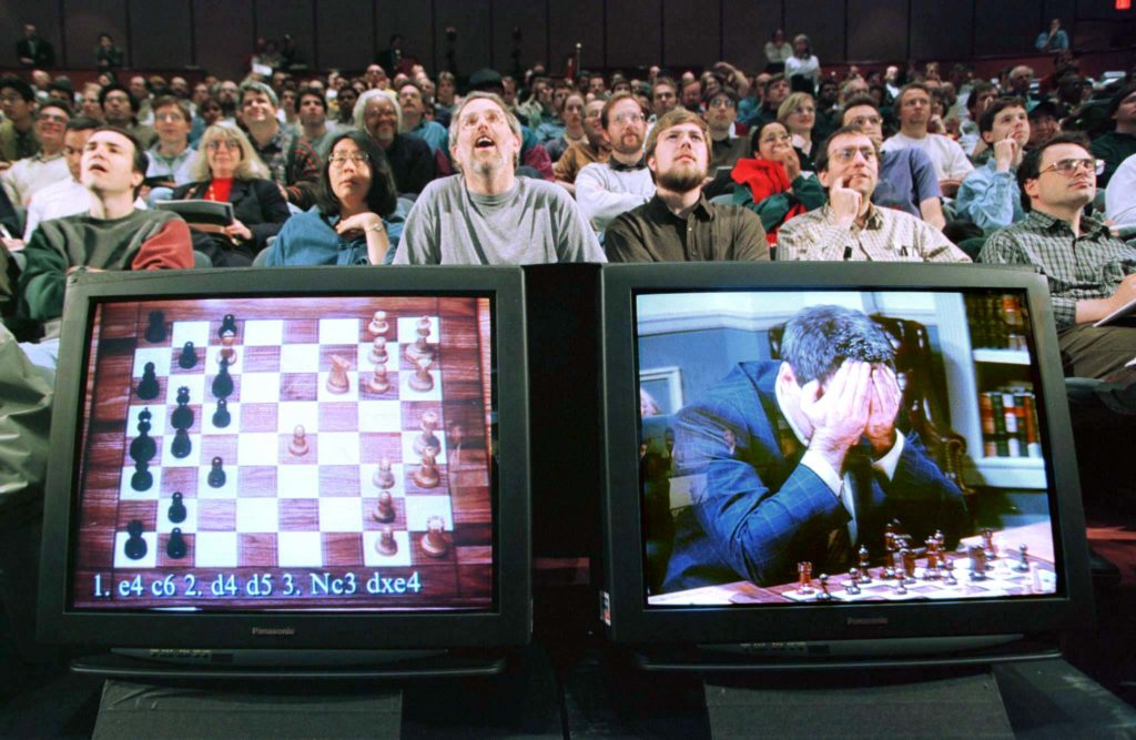 Deep Blue battant Kasparov en 1997
