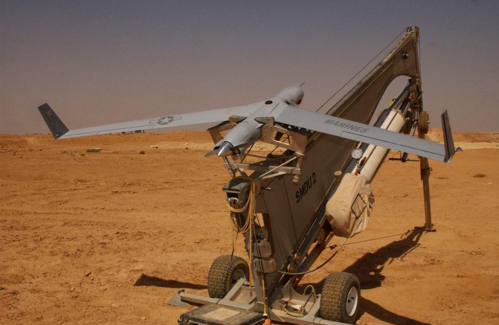Lanceur de drone ScanEagle